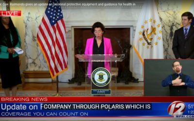 Polaris MEP Receives Innovation Award and Citation from Gov. Raimondo