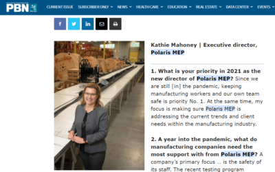Providence Business News: Five Questions with Kathie Mahoney